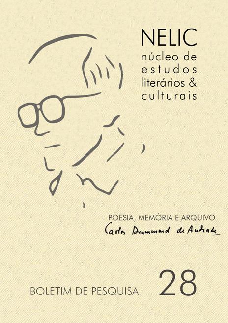 Lançamento: Poesia, Memória e Arquivo: Carlos Drummond de Andrade